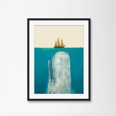 The Whale by Terry Fan Art Print