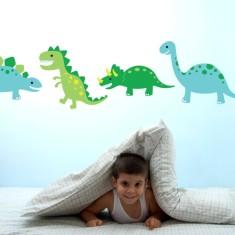 Dinosaur stomp wall decal