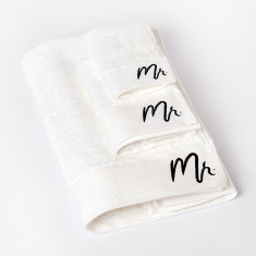 Mr Bath Towel Gift Set