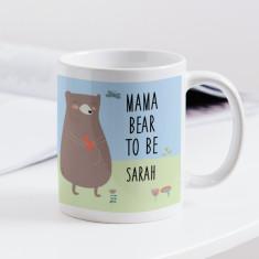 Personalised Mama Bear to Be Mug