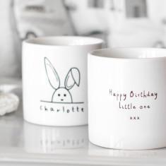 Children's Personalised Rabbit Mini Mug