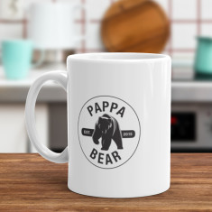 Personalised Pappa Bear - Funny Coffee Mug
