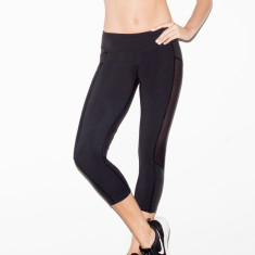 Mesh Cropped Leggings