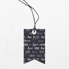 Love love love gift tags (set of 6)