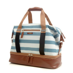 Po Campo Stripes Weekender & Gym bag