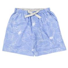 Handyman mid-length pyjama shorts