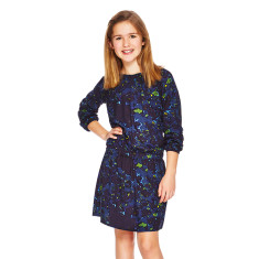Harper long-sleeved tween girls dress