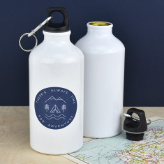 Always Time For An Adventure Water Bottle