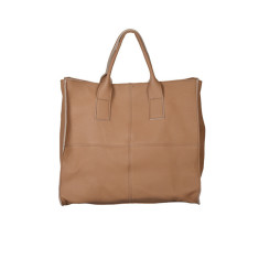 Enrica shopping bag in tan
