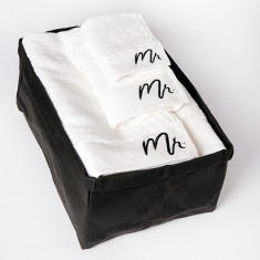 Mr Bath Sheet Gift Set