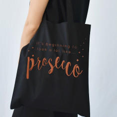 Looks Like Prosecco Christmas Tote Bag