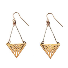 Gold Tula Earrings