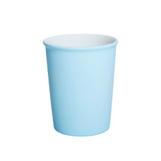 Pale blue porcelain latte cups - pack of 2 (buy 2 get 1 free)