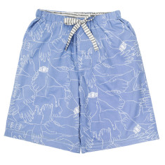 Handyman knee-length pyjama shorts