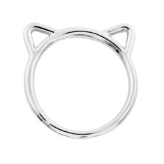Kitty cat ring (Various colours)