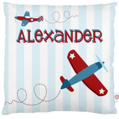 Boys' personalised cushion covers (various designs)