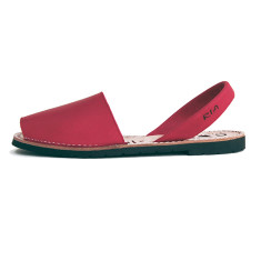 Morell leather sandals in red