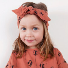 Up in the air bow headband