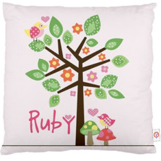 Girls' personalised cushion cover (various designs)