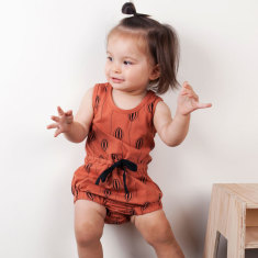 Up in the air kids' romper
