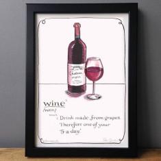 Wine Definition Print