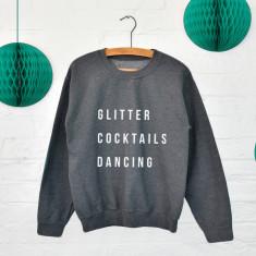 Favourite things personalised sweatshirt jumper