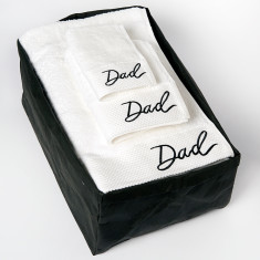 Dad Bath Sheet Gift Set