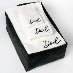 Dad Bath Sheet Gift Set