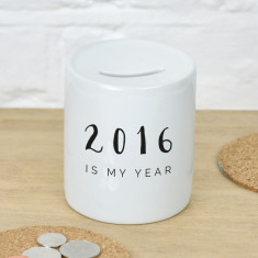My year 2016 money box