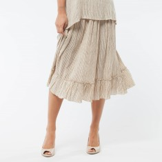 Holly Skirt In Camomile