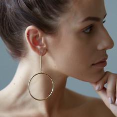 Alice earrings in gold