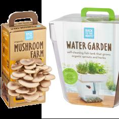 Edible Indoor Mini Farms Fish Tanker Planter Gift Set