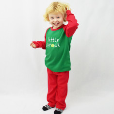 Little Sprout Children's Christmas Pyjamas