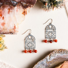 Stainless Steel Atlas Earrings