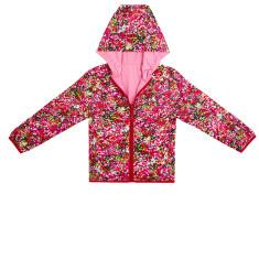 Girls' anywhere reversible raincoat