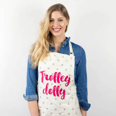 Trolley Dolly Funny Apron