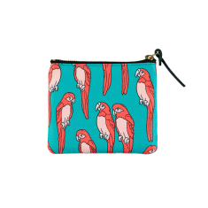 Woouf Pouch Small - Parrots