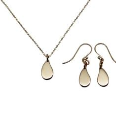 Little drop 9K gold jewellery gift set