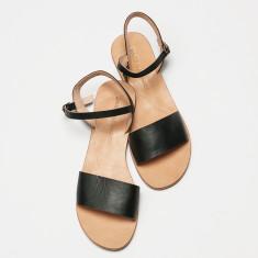 Paros sandal black
