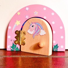 Unicorn fairy door gift set