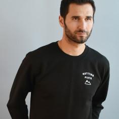 Getting Piste Embroidered Unisex Sweatshirt Jumper