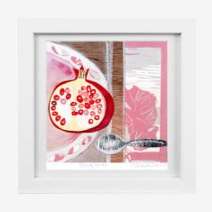 Framed Fiona Roderick 'Pomegranate' print
