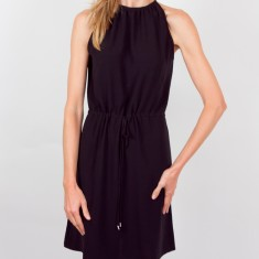 Audrey crepe dress