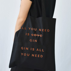 All You Need Is Gin Christmas Tote Bag