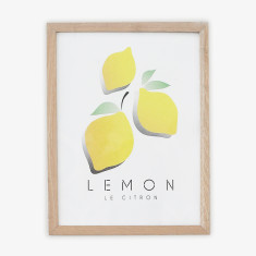Le Citron wall art print