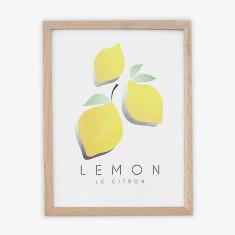 Le Citron wall art print