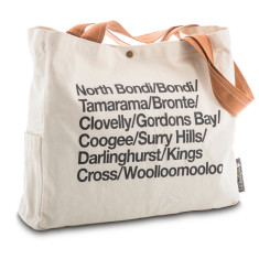 Sydney Eastern Suburbs & Beaches Wine Tote Bag