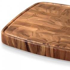 Carolina large end grain chopping board with feet