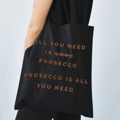 All You Need Is Prosecco Christmas Tote Bag