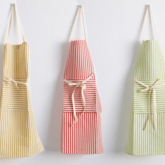 Striped apron - Melograno